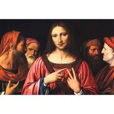 Buyenlarge 'Christ Among the Doctors' by Bernardino Luini Graphic Art