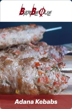 Adana Kebabs with Red Capsicum Pepper, Hot Aleppo Chili Flakes, Salt & Pepper and Lamb Tail Fat. Optionally Parsley and other ingredients.  #JAH #JAHzKitchen #AdanaKebabs #UrfaKebabs #Kebabs #Kebabi #TurkishKebabs #HotAleppo #Urfa #Adana #BBQ #Grill Greek Sauce, Kebab Recipes, Ground Lamb, Bbq Rub, Tzatziki Sauce, Aleppo, Roasted Red Peppers, Kebabs, Barbecue Recipes