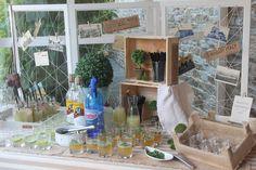 Mesa de Mojitos y Limonada
