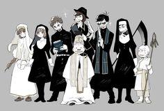 Osomatsu-san ver world devil(?)