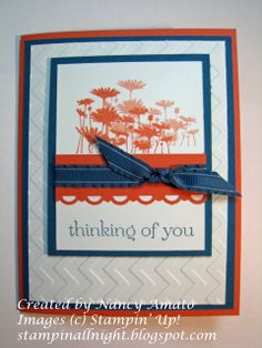 Stampin' All Night: RemARKable Best of 25th Anniversary Blog Tour: Best of Flowers