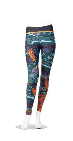 5eb07fa423891 Groovy Grayling Leggings by FisheWear. Inspired by one our favorite fish to  fly fish for