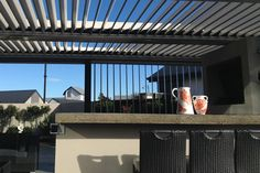 Get your hands on NZ's first retractable roof louvers! Johnson&Couzins launch a brand-new Kiwi-designed sliding roof system, the Concertina Louvres.