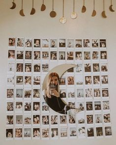 gallery wall collage for the dorm room. gallery wall collage for the dorm room. Cute Room Ideas, Cute Room Decor, Teen Room Decor, Room Ideas Bedroom, Small Room Bedroom, Diy Bedroom Decor, Bedroom Designs, Bedroom Decor Pictures, Bedroom Inspo