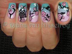 Cherry Blossom by Diana van Nisselroy