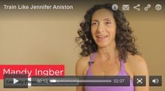 Train like Jennifer Aniston! Here, celebrity trainer Mandy Ingber shares the yoga moves she does with Jen.