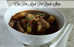 Pot Roast Beef Stew! Warms you from the inside out. Yum!
