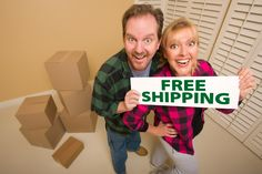 The biggest drawback to shopping online remains those pesky shipping fees. Fortunately, you can avoid such costs with a little ingenuity.