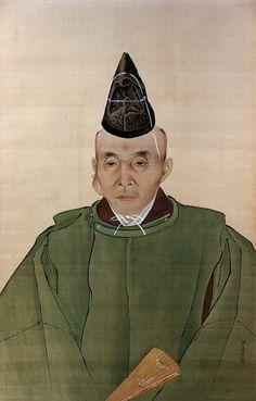 Watanabe Kazan - Portrait of Ichikawa Beian, 1837