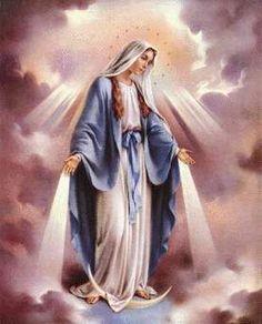 Santo Rosario de jaculatorias a la Virgen de la Medalla Milagrosa