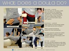 CAPPA: Childbirth and Postpartum Doula AssociationWhat Does a Doula Do Poster