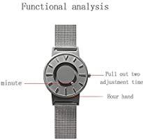 Rolexes Clock Shop Reloj Con Toque Magnetico Concepto De Moda Creativo Reloj Unisex Pulsera De Acero Inoxidable El Mejor In 2020 Clock Shop Shopping Skeleton Watch