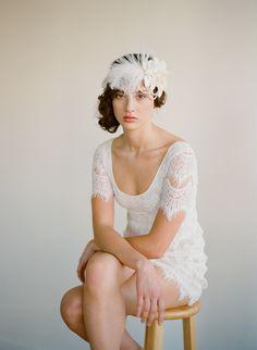 Beautiful photography by Elizabeth Messina. Twigs & Honey headpiece.