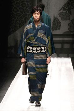 """The Jotaro Saito Fall/Winter 2013 collection was presented during Tokyo Fashion Week. Since debuting at the age of 27, Saito is known as Japan's youngest kimono designer."