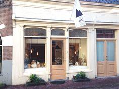 Our tiny shop in Dordrecht, The Netherlands Visit us!  www.kleienzij.nl