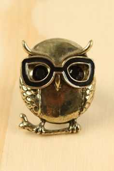 Wise Owl ring. Adorable!