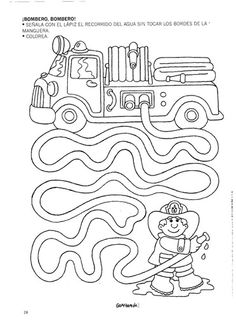 Mazes for kids printable preschool Preschool Writing, Preschool Learning, Kindergarten Worksheets, Worksheets For Kids, Learning Activities, Preschool Activities, Space Activities, Teaching, Community Helpers Worksheets