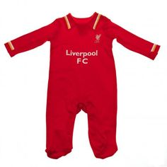 Official Liverpool Football Club Home /& Away Kit Twin Pack Bodysuit Baby Grows