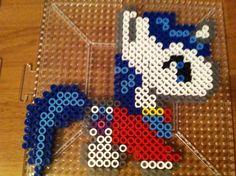 MLP Shining Armor  Perler beads by Khoriana on deviantART