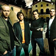 My favorite band of all time. If my heart and soul were to take the form of music I'm sure it would sound like The Fray. <3