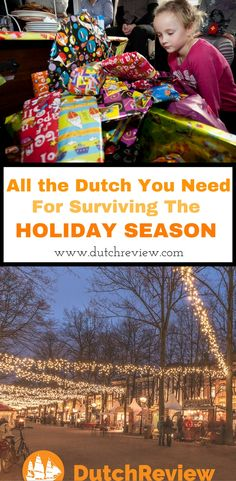 All the Dutch words and phrases you'll need for the Dutch holiday season!
