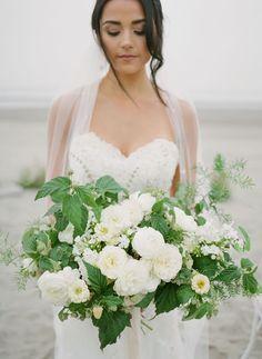 Stunning coastal Micro-Wedding Inspiration with beautiful florals | Oregon Wedding Inspiration Floral Wedding, Wedding Bouquets, Coastal Wedding Inspiration, Wedding Shoot, Wedding Blog, Romantic Wedding Photos, Seattle Wedding, Intimate Weddings, Magnolia
