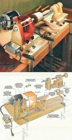 DIY Mini Lathe - Lathe Tips, Jigs and Fixtures | WoodArchivist.com