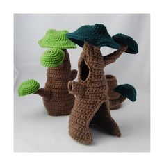 A gnome/fairy hideaway??  YES PLEASE!! So freaking cute!! Ravelry: Fairy Hideaway pattern by Karla Fitch
