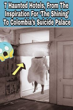 "From the mountainside lodge that inspired ""The Shining"" to Colombia's suicide palace, the world's most haunted hotels aren't for the timid. Haunted Hotel, Most Haunted, Funny Facts, Funny Jokes, Body Farm, News 9, Funny Pins, Funny Stuff, Shocking News"