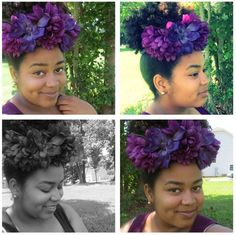 Naturally Fierce Feature: Holly, Global Couture blog