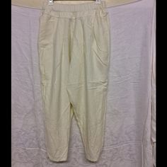 Black Crane Trouser Style Flannel Pants M NWOT Relax in style stay warm while lounging around, pleated front, elastic waist flannel, Medium, roomy, comfy! Trouser style with tapered leg. Antique white Black Crane Intimates & Sleepwear Pajamas