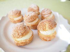 Choux à la crème  Cream puffs