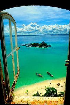 Lengkuas Island, Indonesia!! vey wonderful!!