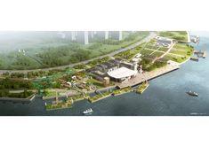 Agence Ter propõe parque ao longo do rio Huangpu em Xangai,Cortesia de Agence Ter