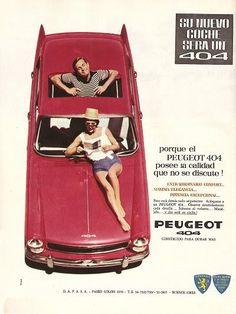 Peugeot 404 publicidad