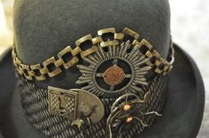 Men's Steampunk HatOne Of A KindREADY TO by OnceUponABustle, $160.00