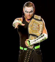 Jeff Hardy, 1 Time WWE Champion.