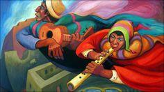 Mexican Paintings, Peruvian Art, Church Banners, Photography Illustration, Arte Popular, Graphic Patterns, American Art, Folk Art, Contemporary Art