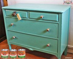 The Green Bureau. http://www.greenbureaufurniture.com/, created this lovely soft hue by mixing GF Basil, Patina Green and Snow White Milk Paints. You can find your favorite GF products at Woodcraft, Rockler Woodworking stores or Wood Essence in Canada. You can also use your zip code to find a retailer near you at http://generalfinishes.com/where-buy#.UvASj1M3mIY.  #generalfinishes #gfmilkpaint #customcolor