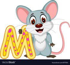 Happy mouse cartoon posing vector image on VectorStock School Painting, Cartoon Pics, Adobe Illustrator, Vector Free, Pikachu, Disney Characters, Fictional Characters, Preschool, Clip Art
