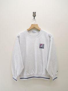 Vintage Fila Biella Italia Sweatshirt Sport by RetroFlexClothing