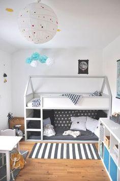 54 Ideas kids room ideas for boys ikea kura bed hack