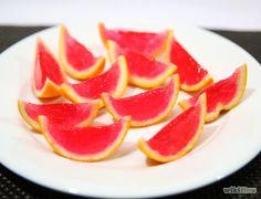 Make Jello Shots in an Orange