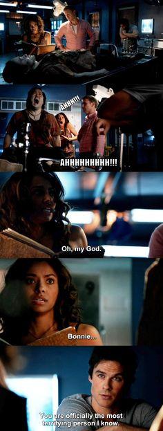The Vampire Diaries TVD 7X04 - Damon, Bonnie and Alaric