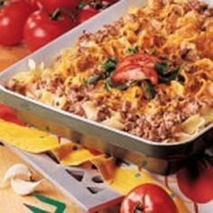 Beef Noodle Bake Allrecipes.com