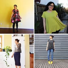Our favourite Ebony Tees & Dresses (Closet Case Files) Kaftan Pattern, Clothing Patterns, Sewing Patterns, Patterned Jeans, Tee Dress, Sewing Clothes, Tees, Closet, Dresses