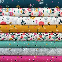 Cotton Candy by @susandriscoll_theprinttree for @dashwoodstudio is here and it is gorgeous! #cottoncandyfabric https://www.thevillagehaberdashery.co.uk/sewing-patchwork/fabric?fabric_collection=2496