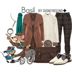 Basil+ by leslieakay on Polyvore featuring navabi, Samoon, RED Valentino, Mulberry, Marc by Marc Jacobs, Olivia Burton, MANGO, American Rag Cie, disney and disneybound