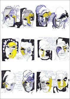 Image result for blind contour projects