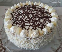 Ananásová torta s mascarpone krémom (fotorecept) - recept | Varecha.sk Tiramisu, Ethnic Recipes, Food, Basket, Mascarpone, Essen, Meals, Tiramisu Cake, Yemek